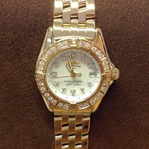 Breitling Callistino Yellow Gold Diamond Bezel - Serviced by...