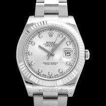 Rolex Datejust II Acero 41mm Plata