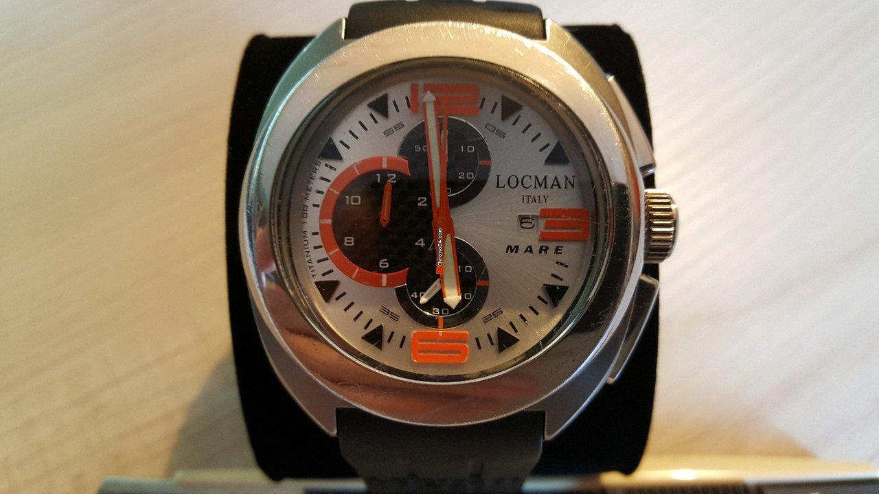 Locman MARE Shark Chrono eladó 47 783 Ft Magáneladó státuszú eladótól a  Chrono24-en 2797e34f9a