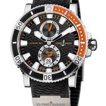 Ulysse Nardin Maxi Marine Diver Titanium 45mm Black No numerals