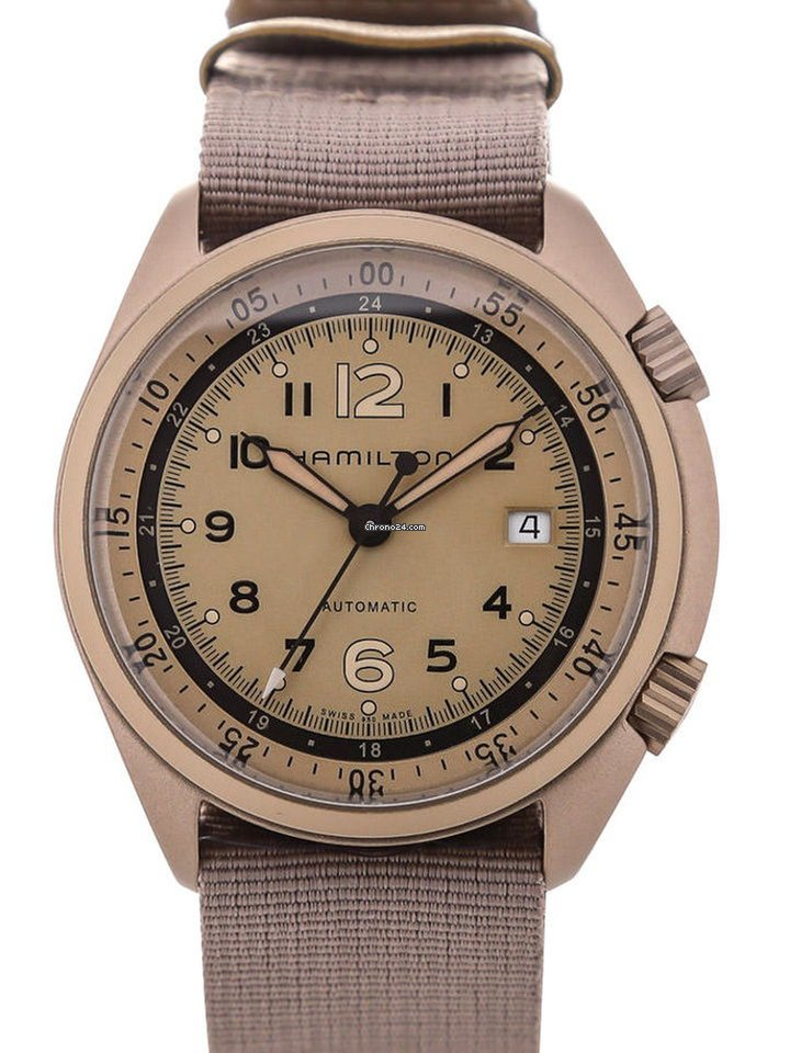 eb50c33a3 Hamilton Khaki Aviation Pilot Pioneer Auto for $877 for sale from a Trusted  Seller on Chrono24