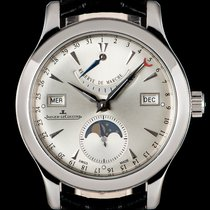 Jaeger-LeCoultre 40mm Automatic pre-owned Master Calendar Silver