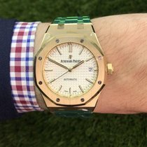 Audemars Piguet Royal Oak Selfwinding neu 37mm Gelbgold
