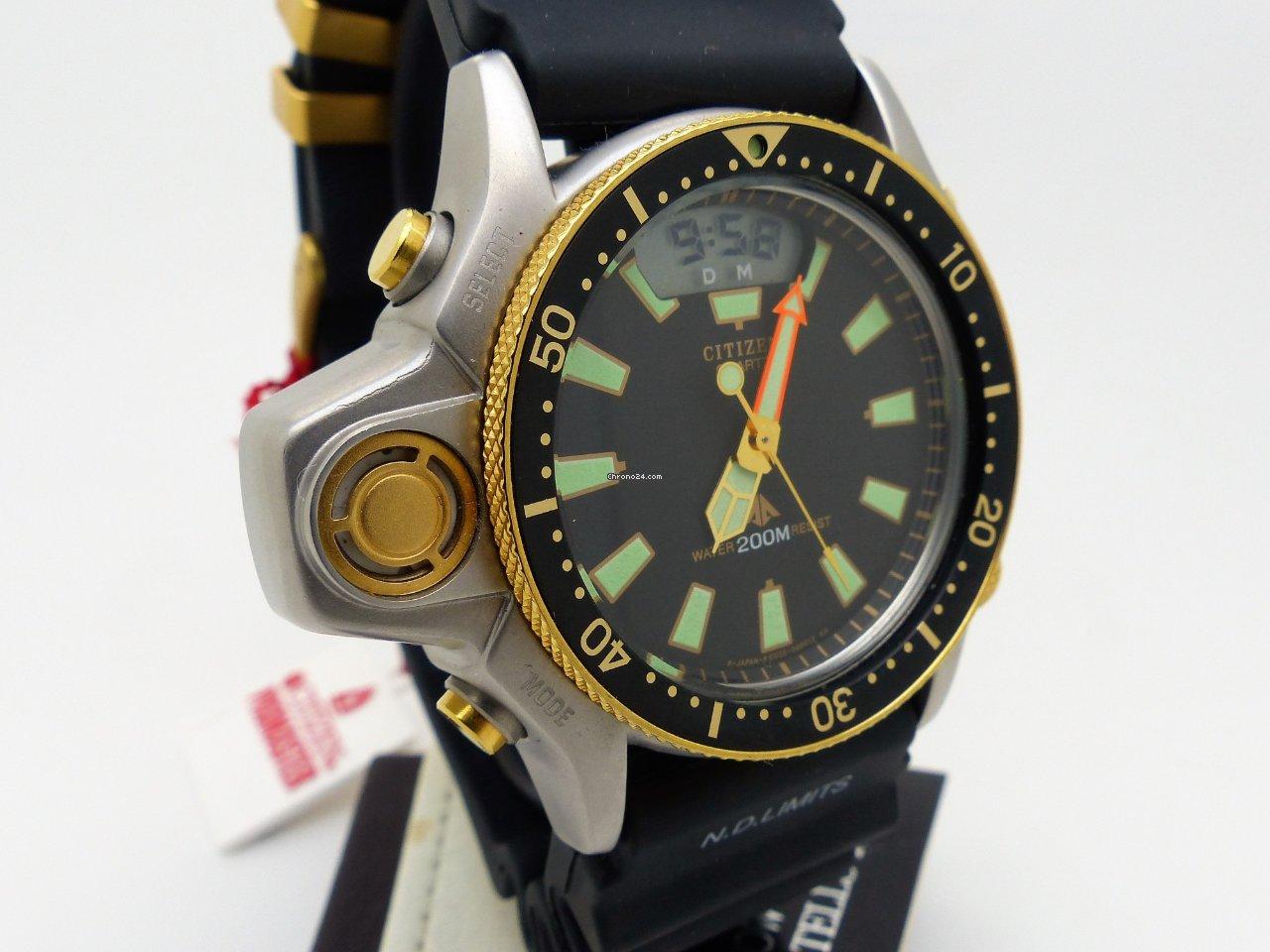 Citizen Promaster Aqualand Cal.C023 Ref  CQ-1063-50 for £1 d42994f6fd