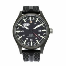 Ball 43mm Automatic pre-owned Fireman (Submodel) Black