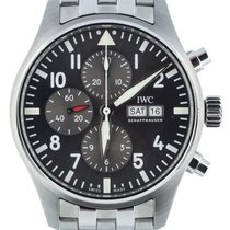 IWC Pilot Spitfire Chronograph Steel 43mm Silver United States of America, Illinois, BUFFALO GROVE