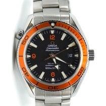 Omega Seamaster Planet Ocean Steel 42mm Black Arabic numerals United States of America, New York, New York