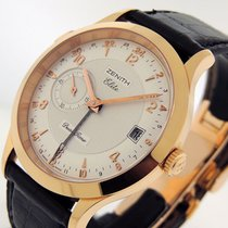 Zenith Elite Dual Time Rose gold 39mm Silver United States of America, California, Los Angeles
