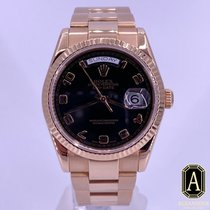 Rolex Day-Date 36 Rose gold 36mm Black Arabic numerals United States of America, California, Beverly Hills