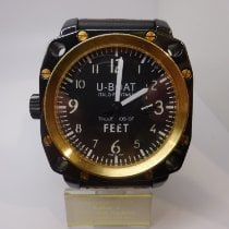 U-Boat Thousands of Feet Gold/Steel 50mm Black