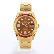 Rolex Pearlmaster Or jaune 39mm