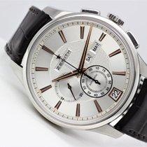 Zenith Silver Automatic Silver 42mm pre-owned El Primero Winsor Annual Calendar