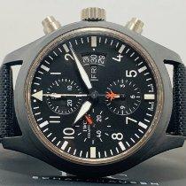 IWC Pilot Chronograph Top Gun Keramiek Zwart