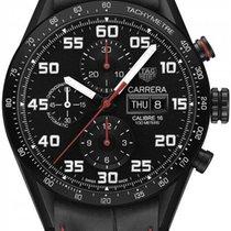 TAG Heuer Ceramic Automatic Black Arabic numerals 43mm new Carrera Calibre 16
