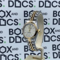 Rolex Oyster Perpetual pre-owned Champagne Gold/Steel