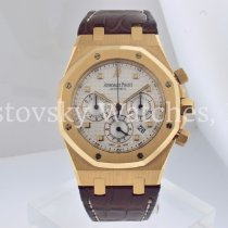 Audemars Piguet Royal Oak Chronograph Rose gold 39mm Silver No numerals United States of America, California, Beverly Hills