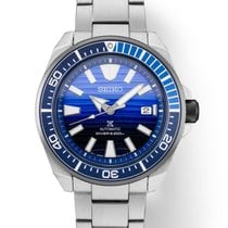 Seiko Prospex Steel 44mm Blue United States of America, Florida, Sarasota