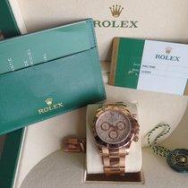 Rolex Daytona Oro rosado 40mm Blanco Sin cifras España, Costa d'en Blanes