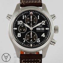 IWC Pilot Double Chronograph Aço