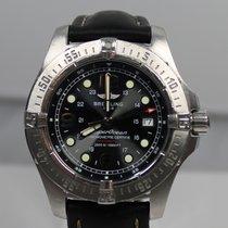 Breitling Superocean Steelfish Stahl Schwarz Arabisch Deutschland, Essen