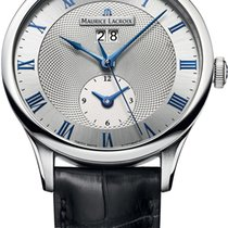 Maurice Lacroix Masterpiece Steel 40mm Silver United States of America, New York, Airmont
