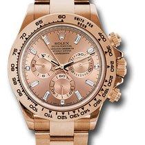 Rolex 116505 Cosmograph Daytona 18K Rose Gold Unisex Watch