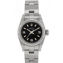 Rolex Lady-Datejust Acero 25mm Negro Sin cifras