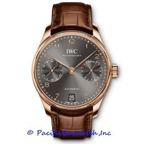 IWC Portuguese Automatic Rose gold 42mm Grey Arabic numerals United States of America, California, Newport Beach