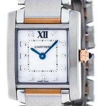 Cartier Tank Française new Quartz Watch with original box and original papers WE110004