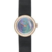 Dior La D de Dior Rose Gold Diamond Ladies Watch – CD040170A001