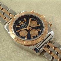 Breitling Chronomat 44 Stahl Rosegold mit Stahl Rosegoldband...