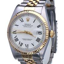 Rolex Oyster Datejust Jubilee Gold Steel Roman Dial 36 mm (1974)