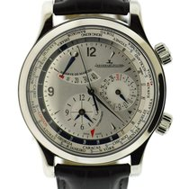 Jaeger-LeCoultre Master World Geographic Steel 41mm Silver United States of America, New York, New York