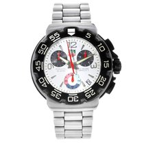 TAG Heuer Formula 1 Quartz Steel 41mm White Arabic numerals United States of America, New York, NYC