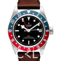 Tudor Black Bay GMT Black Steel/Leather - 79830RB