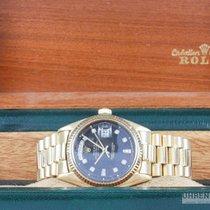 Rolex Day-Date 18k Diamant Zifferblatt Präsidentenband Rolex Box