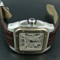 까르띠에Ronde Solo de Cartier,중고시계,정품 박스 없음, 서류 원본 없음,42 mm,금/스틸