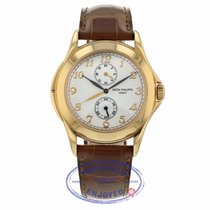 Patek Philippe Travel Time Rose gold 37mm White United States of America, California, Beverly Hills