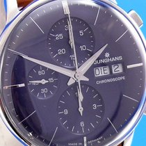 Junghans Meister Chronoscope Stahl 40.7mm Blau Deutschland, Berlin