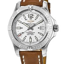 Breitling Colt Automatic Silver No numerals United States of America, New York, Brooklyn