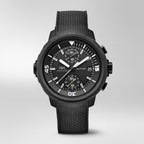 IWC Aquatimer Chronograph Steel 44mm Black No numerals United States of America, Iowa, Des Moines