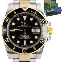 Rolex Submariner Date Gold/Steel 40mm Black United States of America, New York, Huntington