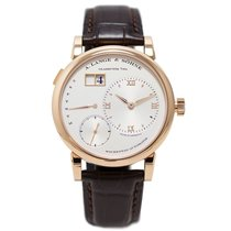 A. Lange & Söhne Lange 1 Rose gold 39.5mm Silver Roman numerals United States of America, New York, New York