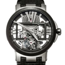 Ulysse Nardin Executive Skeleton Tourbillon Titanium 45mm Black United States of America, Texas, Houston