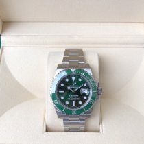 Rolex Submariner Date Steel 40mm Green No numerals United States of America, Illinois, Springfield