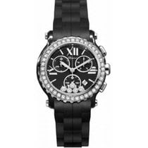 Chopard Ceramica Quarzo Nero Romano 42mm nuovo Happy Sport
