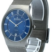 Skagen Titanium 37mm Quartz 233XLTTM pre-owned