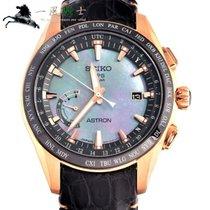 Seiko Astron GPS Solar 45mm Zwart