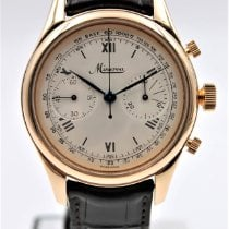 Minerva Rose gold Manual winding 40mm pre-owned