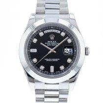 Rolex Day-Date II Platinum 41mm Black United States of America, Georgia, Atlanta